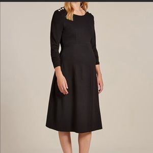 Isabella Oliver Paige Maternity Button Dress US 10